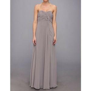 Donna Morgan Sterling Twist Detail Chiffon Dress